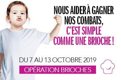 Opération Brioches : rendez-vous du 7 au 13 octobre 2019 !
